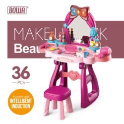 Makeup Desk and Chair Beautician